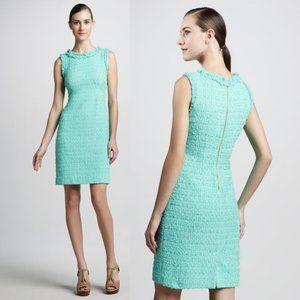 Kate Spade Terri Tweed Mint Sheath Dress W Flaws
